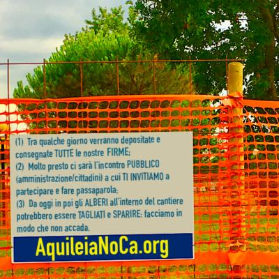 Parco Comunale Aquileia - Salviamo il polmone verde