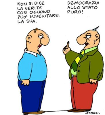 Altan Aquileia Democrazia Verità